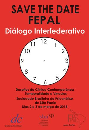 Save the Date FEPAL – Diálogo Interfederativo