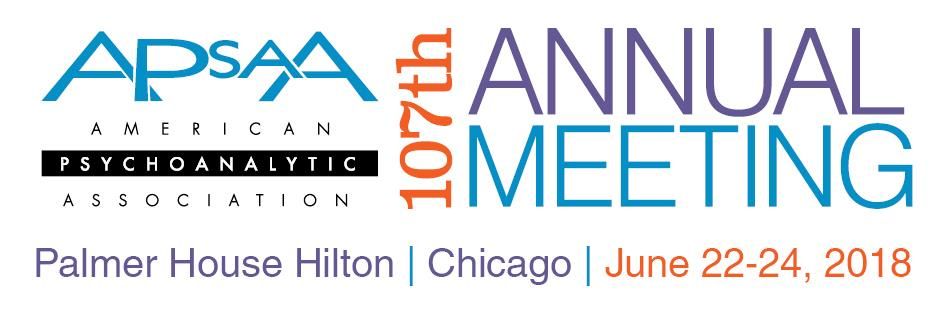 107th Annual Meeting American Psychoanalytic Association