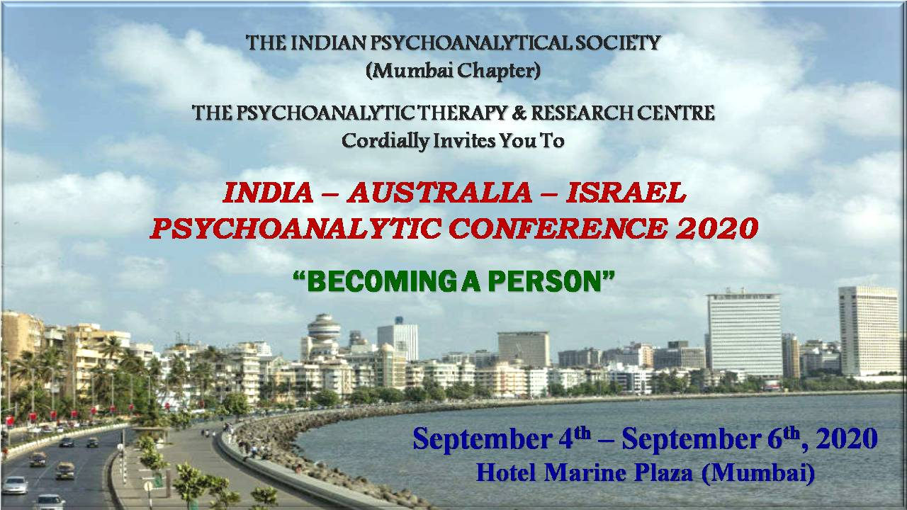 Becoming a Person: India , Australia, Israel Conference