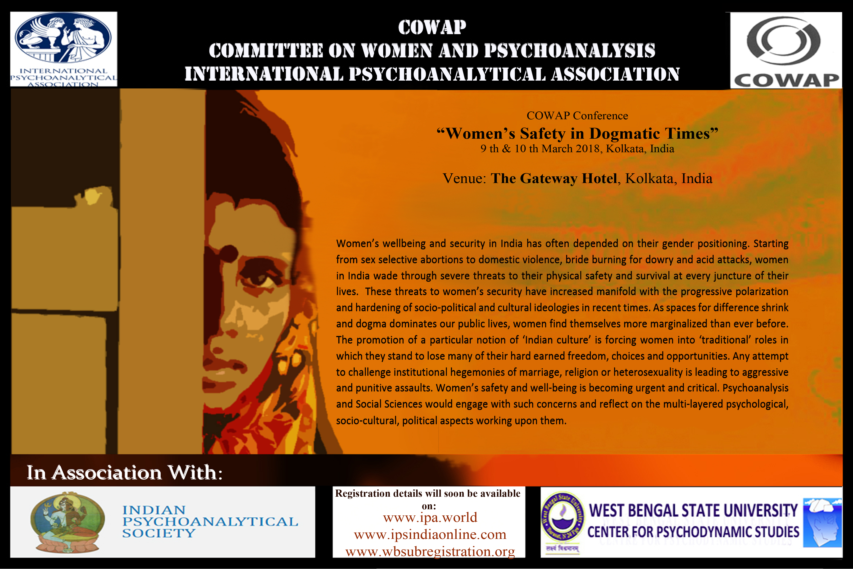 "COWAP Conference ""Women's Safety in Dogmatic Times"""