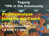 IPA in the Community - Psychoanalysis Beyond the Couch