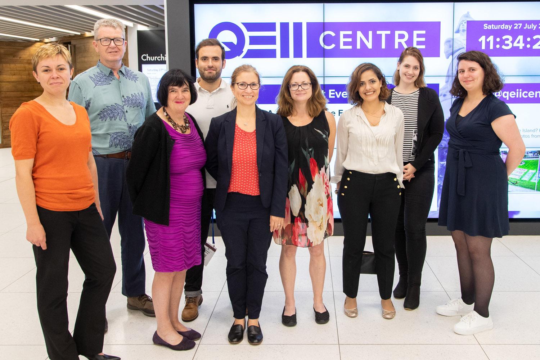 Einige unserer Mitarbeiter auf dem Internationalen Kongress der IPA 2019