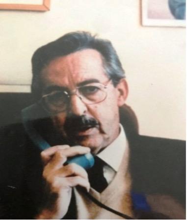 Adriano Giannoti, erster Präsident von AIPsi