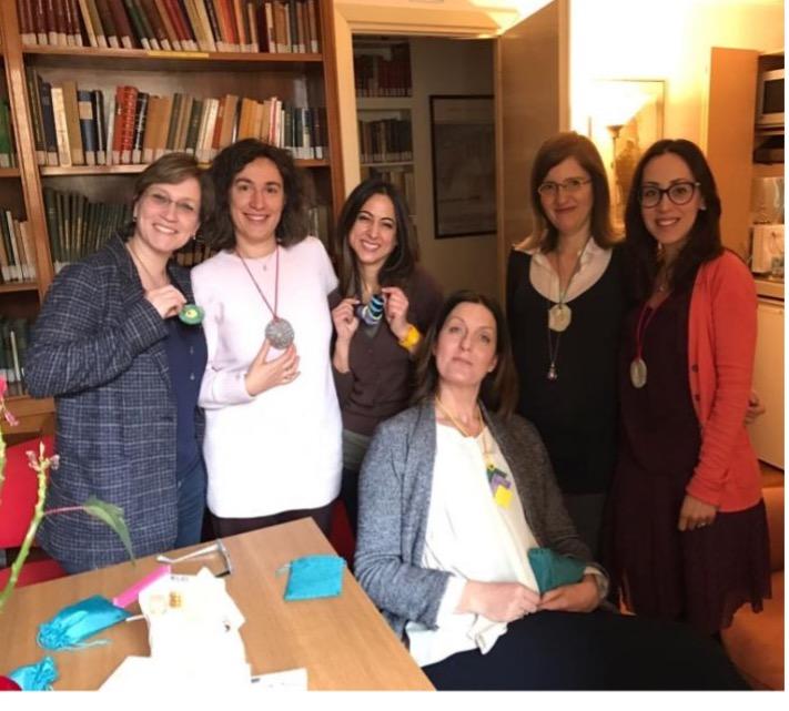 2019; Einige unserer Kandidaten in der Bibliothek von AIPsi.